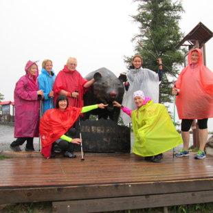 2.diena - Tatranska magistrala sākuma posms - diena miglaina ar nelielu lietutiņu