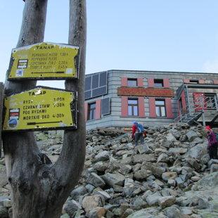 3.diena - Chata pod Rysy 2250m