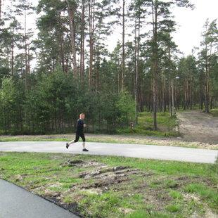 Atis 3. treniņu izvēlējās kā skriešanas treniņu
