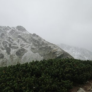 Svaigi sniegotie kalni 7.septembrī