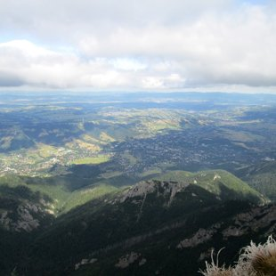 2.diena - skats no virsotnes ar apledojušu zāli