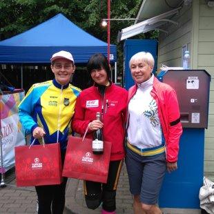 Ar Mariju un Gaļinu no Ukrainas