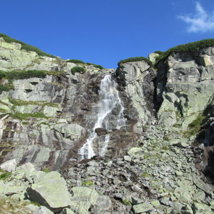 1.diena - vodopad Skok